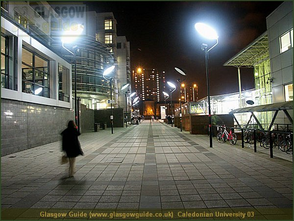Glasgow Guide: Glasgow Images: Glasgow at Night: Caledonian ... on