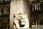 Glasgow City Guide Photographs: Glasgow at NightCenotaph Lion.jpg08 December 2004 17:43