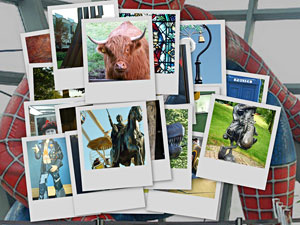 Glasgow Things Postcards Collage