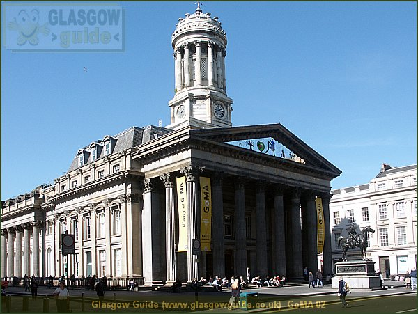 Glasgow City Guide Photograph: Glasgow Guide: Images: GoMA 02.JPG GoMA 02 GoMA78.5 KB 11:05: 24 True color (24 bit) 16777216 Make: Minolta Co., Ltd. Model: DiMAGE 7i DateTime: 11/09/2004 12:05:41 EXIFImageWidth: 2468 ExifImageLength: 1851 Flash: Flash did not fire - Compulsory flash suppression ISOSpeedRatings: ISO 100 FocalLength: 8.4 mm 11/09/2004 12:05:41 451 600 GoMA 02.htm