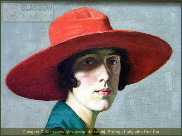 Glasgow City Guide Photograph: Glasgow Guide: Images: Strang - Lady with Red Hat.JPG Strang - Lady with Red Hat McLellan Galleries64.2 KB 19:44: 24 True color (24 bit) 16777216 Make: Minolta Co., Ltd. Model: DiMAGE 7i DateTime: 11/09/2004 20:44:41 EXIFImageWidth: 2464 ExifImageLength: 1848 Flash: Flash did not fire - Compulsory flash suppression ISOSpeedRatings: ISO 200 FocalLength: 15.19 mm 11/09/2004 20:44:41 451 600 Strang - Lady with Red Hat.htm