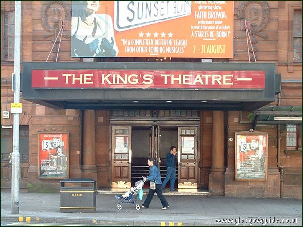 Theatres and Cinemas in Glasgow: Click here to go back to the index page