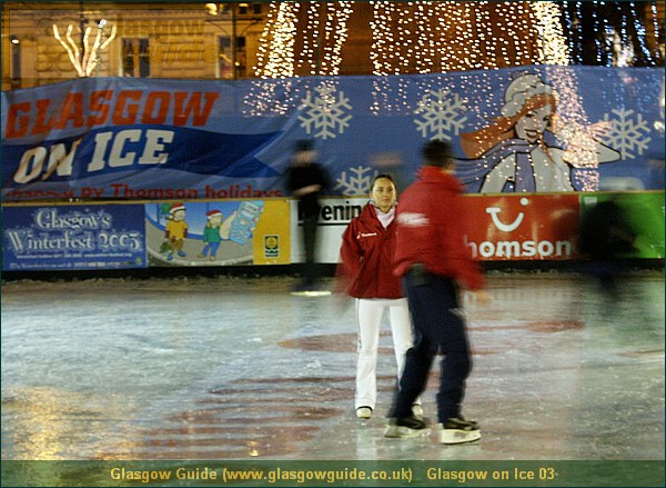Glasgow City Guide Photograph: Glasgow Guide: Images:Glasgow on Ice 03.JPGGlasgow on Ice 03 Glasgow at Christmas73.0 KB 13:29: 24 True color (24 bit) 16777216 Make: Minolta Co., Ltd. Model: DiMAGE 7i DateTime: 19/12/2003 13:28:54 EXIFImageWidth: 1865 ExifImageLength: 1363 Flash: Flash did not fire - Compulsary flash surpression ISOSpeedRatings: ISO 200 FocalLength: 26.78 mm 19/12/2003 13:28:54 440 600Glasgow on Ice 03.htm