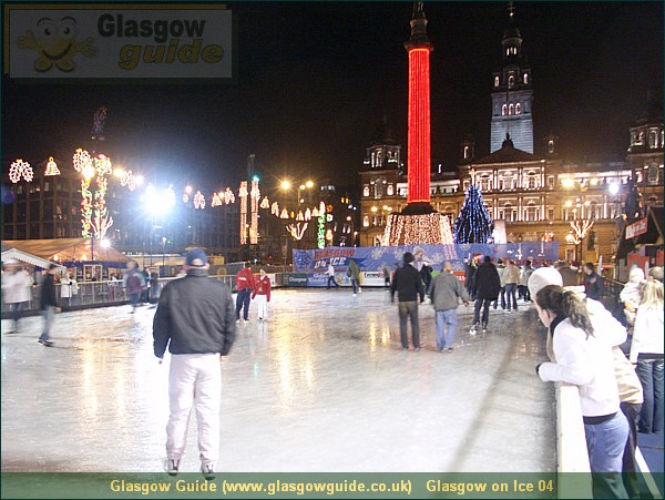 Glasgow City Guide Photograph: Glasgow Guide: Images:Glasgow on Ice 04.JPGGlasgow on Ice 04 Glasgow at Christmas64.4 KB 13:34: 24 True color (24 bit) 16777216 Make: Minolta Co., Ltd. Model: DiMAGE 7i DateTime: 19/12/2003 13:34:24 EXIFImageWidth: 2512 ExifImageLength: 1884 Flash: Flash did not fire - Compulsary flash surpression ISOSpeedRatings: ISO 200 FocalLength: 7.27 mm 19/12/2003 13:34:24 451 600Glasgow on Ice 04.htm
