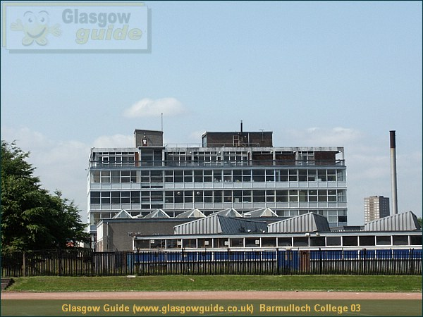 Glasgow City Guide Photograph: Glasgow Guide: Images: Barmulloch College 03.JPG Barmulloch College 03 Barmulloch51.1 KB 12:49: 24 True color (24 bit) 16777216 Make: Minolta Co., Ltd. Model: DiMAGE 7i DateTime: 31/12/2003 12:49:26 EXIFImageWidth: 2059 ExifImageLength: 1544 Flash: Flash did not fire - Compulsary flash surpression ISOSpeedRatings: ISO 100 FocalLength: 22.34 mm 31/12/2003 12:49:26 451 600 Barmulloch College 03.htm