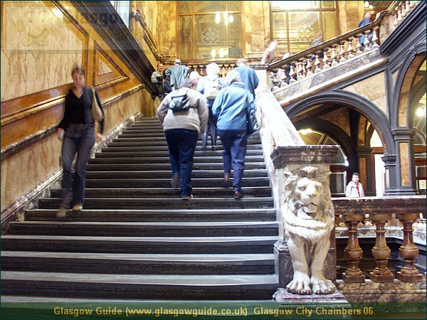 Glasgow City Guide Photograph Glasgow Guide Images Glasgow City Chambers 06.JPG & Glasgow Guide: Glasgow Images: Open Doors - Glasgow City Chambers ...