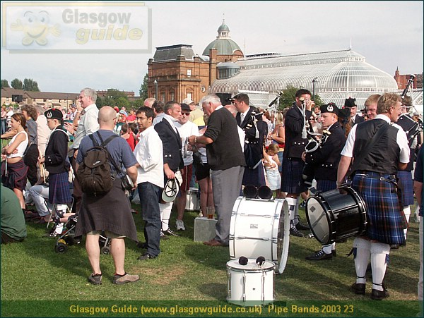Glasgow City Guide Photograph: Glasgow Guide: Images: Pipe Bands 2003 23.JPG Pipe Bands 2003 23 Pipe Bands 200370.8 KB 00:24: 24 True color (24 bit) 16777216 Make: Minolta Co., Ltd. Model: DiMAGE 7i DateTime: 20/01/2004 00:24:32 EXIFImageWidth: 2168 ExifImageLength: 1626 Flash: Flash did not fire - Compulsary flash surpression ISOSpeedRatings: ISO 100 FocalLength: 12.48 mm 20/01/2004 00:24:32 451 600 Pipe Bands 2003 23.htm