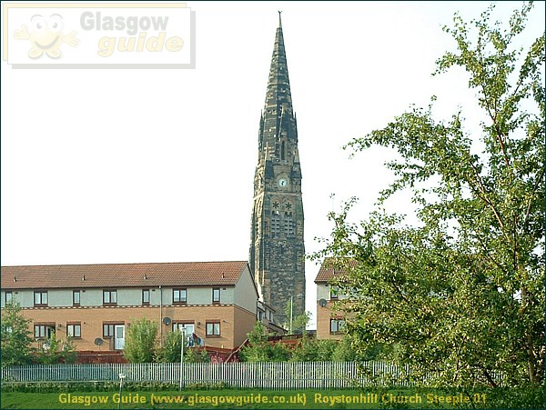 Glasgow City Guide Photograph: Glasgow Guide: Images: Roystonhill Church Steeple 01.JPG Roystonhill Church Steeple 01 Alexandra Parade74.3 KB 23:09: 24 True color (24 bit) 16777216 Make: FUJIFILM Model: FinePix2800ZOOM DateTime: 02/01/2004 23:09:13 EXIFImageWidth: 1458 ExifImageLength: 1094 Flash: Flash did not fire ISOSpeedRatings: ISO 100 ShutterSpeedValue: 1/147 sec ApertureValue: F4.76 FocalLength: 14.2 mm 02/01/2004 23:09:13 451 600 Roystonhill Church Steeple 01.htm