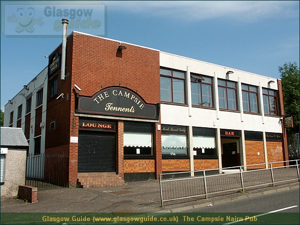 Glasgow Guide Photograph: Glasgow Guide: Images: The Campsie Nairn Pub.JPG The Campsie Nairn Pub Auchinairn Road66.3 KB 13:55: 24 True color (24 bit) 16777216 Make: Minolta Co., Ltd. Model: DiMAGE 7i DateTime: 26/12/2003 13:55:33 EXIFImageWidth: 2364 ExifImageLength: 1773 Flash: Flash did not fire - Compulsary flash surpression ISOSpeedRatings: ISO 100 FocalLength: 8.57 mm 26/12/2003 13:55:33 451 600 The Campsie Nairn Pub.htm