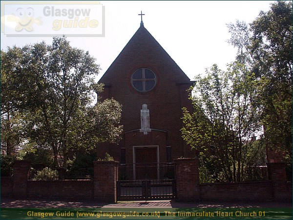 Glasgow City Guide Photograph: Glasgow Guide: Images: The Immaculate Heart Church 01.JPG The Immaculate Heart Church 01 Balornock70.8 KB 11:56: 24 True color (24 bit) 16777216 Make: Minolta Co., Ltd. Model: DiMAGE 7i DateTime: 31/12/2003 11:56:35 EXIFImageWidth: 2288 ExifImageLength: 1716 Flash: Flash did not fire - Compulsary flash surpression ISOSpeedRatings: ISO 100 FocalLength: 7.21 mm 31/12/2003 11:56:35 451 600 The Immaculate Heart Church 01.htm