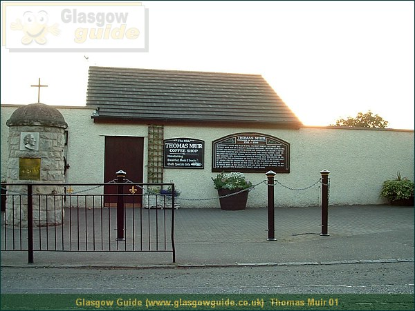 Glasgow Guide Photograph: Glasgow Guide: Images: Thomas Muir 01.JPG Thomas Muir 01 Bishopbriggs58.2 KB 19:51: 24 True color (24 bit) 16777216 Make: FUJIFILM Model: FinePix2800ZOOM DateTime: 28/12/2003 19:51:25 EXIFImageWidth: 1469 ExifImageLength: 1102 Flash: Flash did not fire ISOSpeedRatings: ISO 100 ShutterSpeedValue: 1/97 sec ApertureValue: F2.83 FocalLength: 6 mm 28/12/2003 19:51:25 451 600 Thomas Muir 01.htm