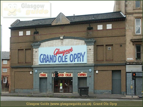 Glasgow City Guide Photograph: Glasgow Guide: Images: Grand Ole Opry.jpg Grand Ole Opry Along Govan Road62.5 KB 13:36: 24 True color (24 bit) 16777216 Make: Minolta Co., Ltd. Model: DiMAGE 7i EXIFImageWidth: 600 ExifImageLength: 450 Flash: Flash did not fire - Compulsory flash suppression ISOSpeedRatings: ISO 400 FocalLength: 10.95 mm451 600 Grand Ole Opry.htm