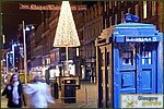 Glasgow City Guide Photographs: Glasgow at Christmas Police Box.JPG19 December 2003 17:45