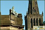 Glasgow City Guide Photographs: High StreetQueen Victoria.JPG10 January 2004 13:04