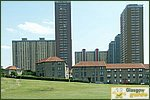 Glasgow City Guide Photographs: BarmullochRed Road Flats 07.JPG31 December 2003 13:30
