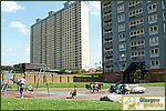 Glasgow City Guide Photographs: BarmullochRed Road Flats Playpark.JPG31 December 2003 16:12