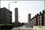 Glasgow City Guide Photographs: BarmullochRye Road Towards Red Road.JPG31 December 2003 12:45