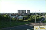 Glasgow City Guide Photographs: SpringburnView to Hawthorn Street.JPG11 January 2004 21:25