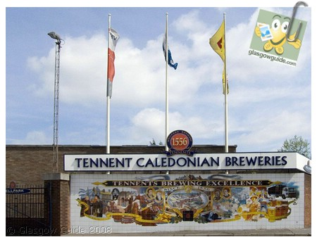 Glasgow City Guide Photographs: GG  Tennent Caledonian Breweries still going strong.jpg  31 December 2008 18:43