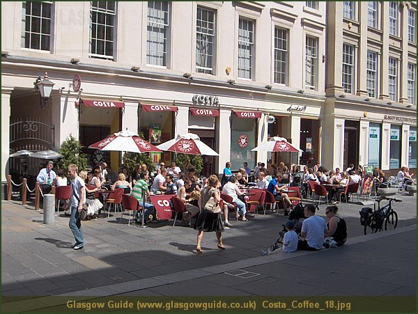 Glasgow Guide Glasgow Images Costa Coffee