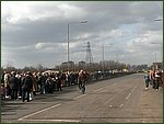 Glasgow City Guide Photographs: Jimmy Johnstone Funeral  Parkhead Cross.jpg  30 April 2006 12:08