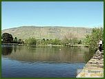 Glasgow City Guide Photographs: Lennoxtown  Whitefield Pond 08.JPG  11 July 2006 21:06
