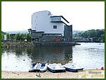Glasgow City Guide Photographs: Loch Lomond Shores  Drumkinnon Tower 02.JPG  21 July 2006 22:28