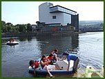 Glasgow City Guide Photographs: Loch Lomond Shores  Drumkinnon Tower 08.JPG  21 July 2006 23:22