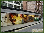 Glasgow City Guide Photographs: Merchant City Mural  Merchant City Mural 08.jpg  05 June 2007 17:24